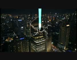 #15 for Film ----------- Add Fire and Smoke and blue beams to this city shot ------ VFX --------  Cinema ------- 10 seconds af meongwae