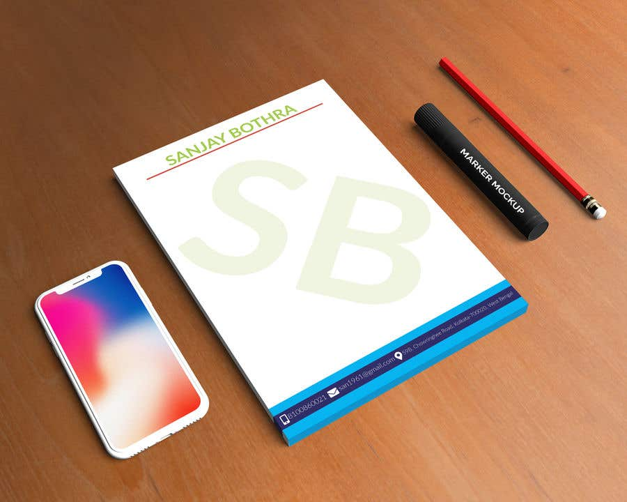 Konkurrenceindlæg #116 for Letterhead design