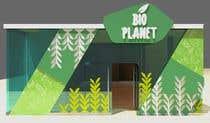 Organic food store interior design için Graphic Design55 No.lu Yarışma Girdisi