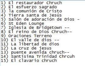 #41 para Name for a Church - Nombre para una iglesia de kashifaws
