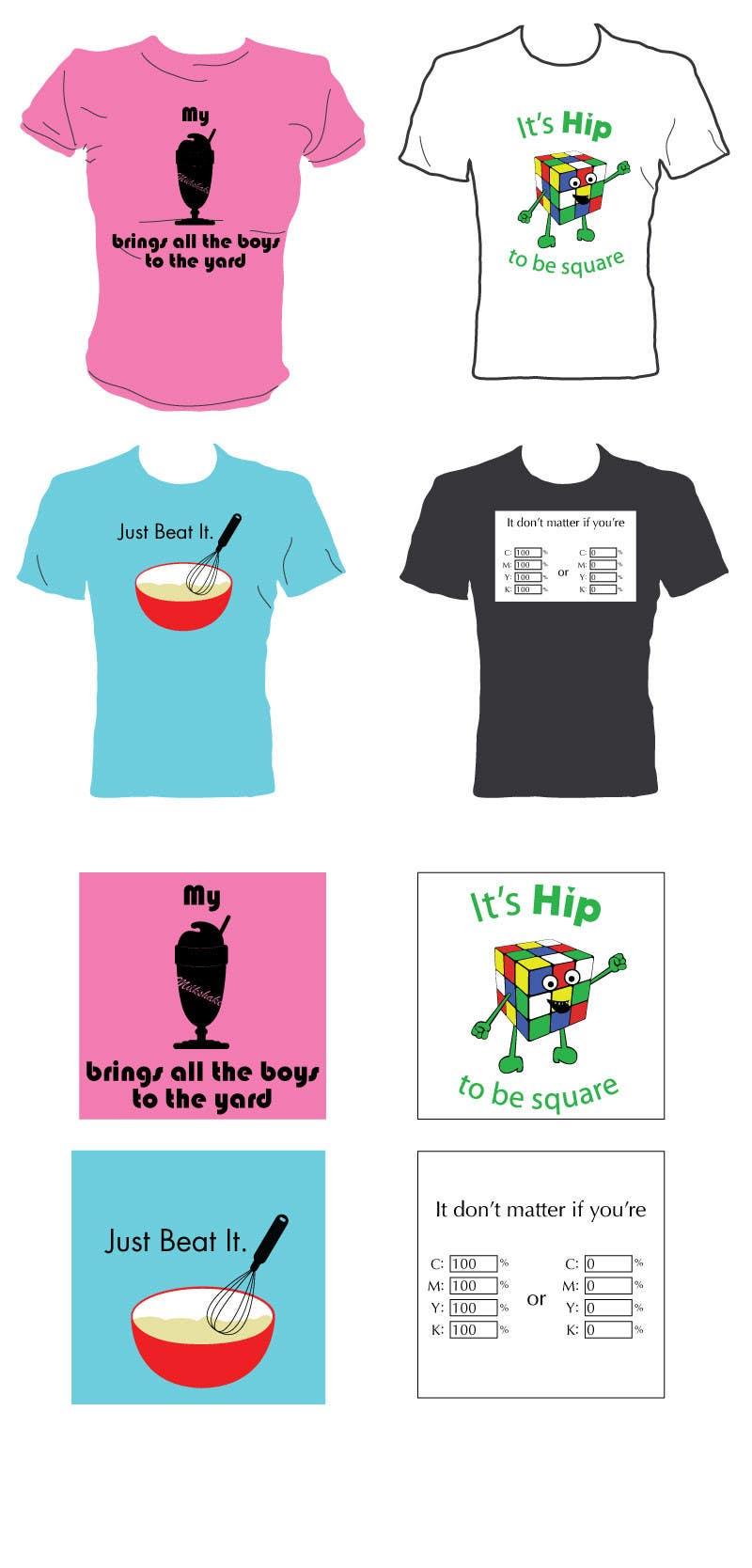 Konkurrenceindlæg #19 for Design 4 funny t-shirts for streetshirts.com