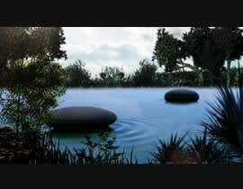 #10 for Add background -----Film ------ Cinema  -----  Add Ocean look, waves, clouds, horizon af suechi