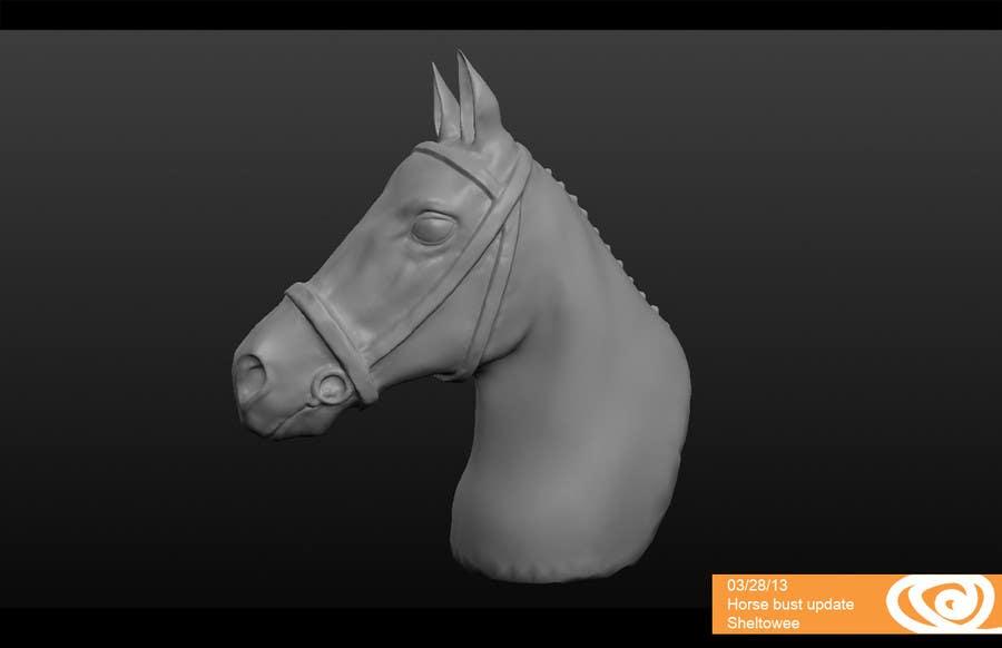 Konkurrenceindlæg #                                        22                                      for                                         Graphic Design for a unique Horse Statue.