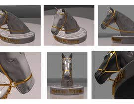 #32 untuk Graphic Design for a unique Horse Statue. oleh celmaicosmin