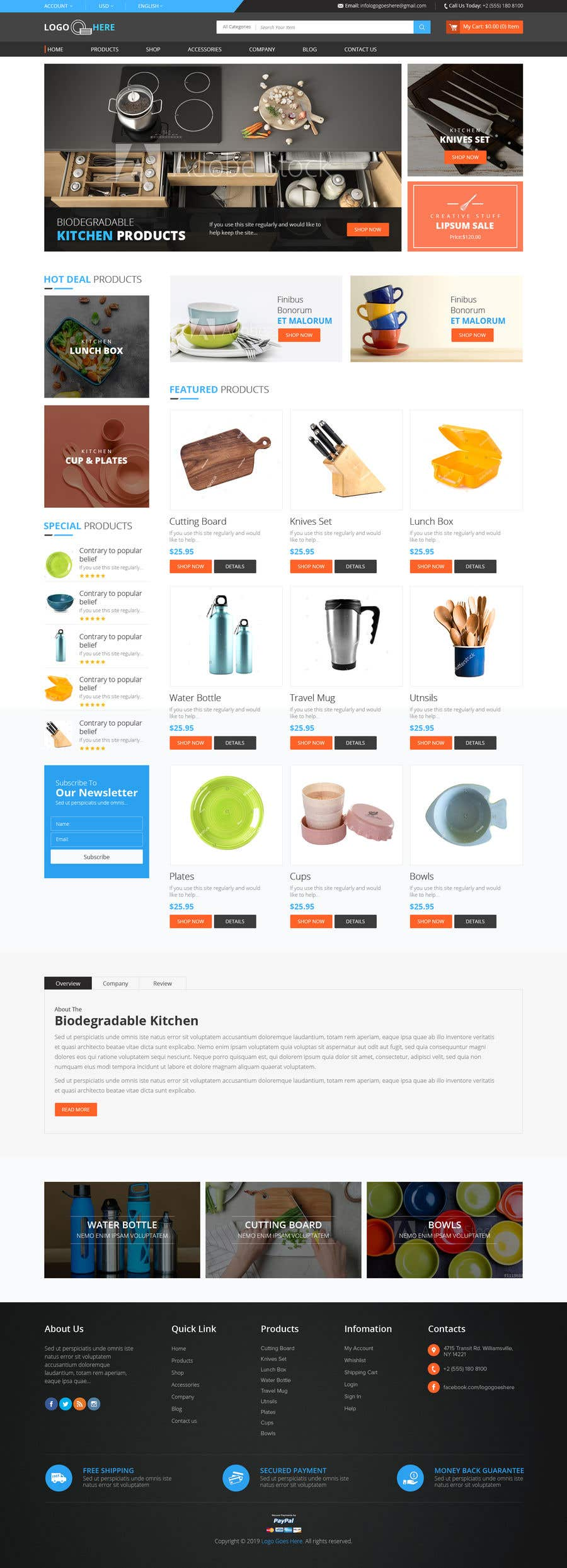 Contest Entry #18 for Cool Website Design for Store