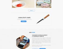 #46 for Cool Website Design for Store by clevpro52