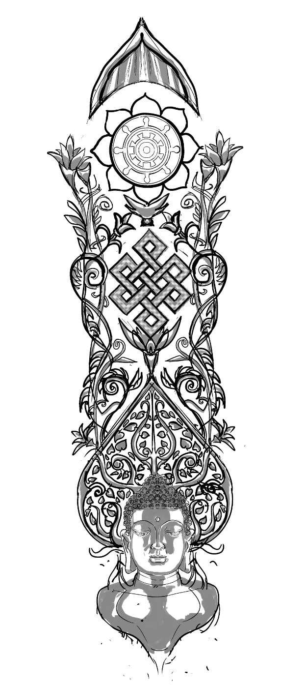 Contest Entry #4 for Tattoo design sleeve
