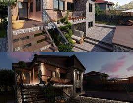 Nro 27 kilpailuun Makeover - House / Facade with Swimming Pool & Garden käyttäjältä Djedoo