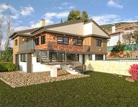 Nro 53 kilpailuun Makeover - House / Facade with Swimming Pool & Garden käyttäjältä cwgdesignsplus