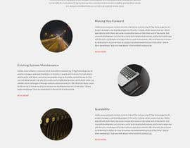 Nro 42 kilpailuun Design a Website Mockup for Software consultancy business käyttäjältä negibheji