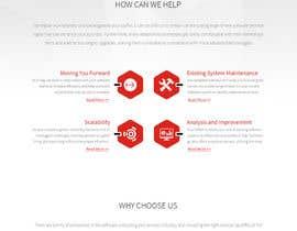 Nro 29 kilpailuun Design a Website Mockup for Software consultancy business käyttäjältä agileviztech