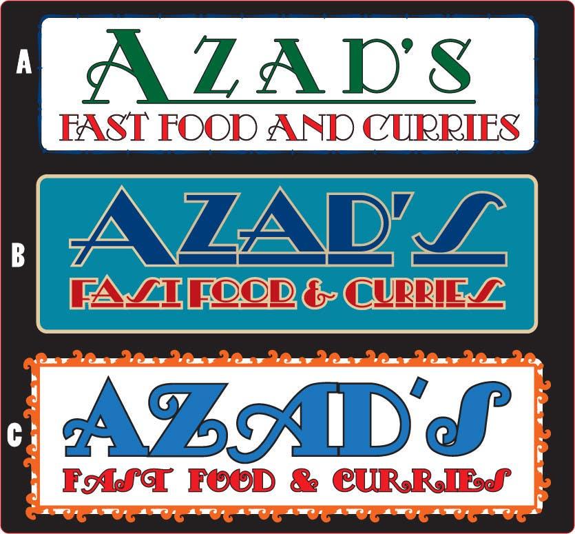 Penyertaan Peraduan #150 untuk Logo Design for Azad's