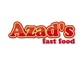 #145 para Logo Design for Azad's por avanaura