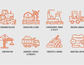 #18 for Need 16 Vector Icons for Construction/Equipment categories af freelancerthebes