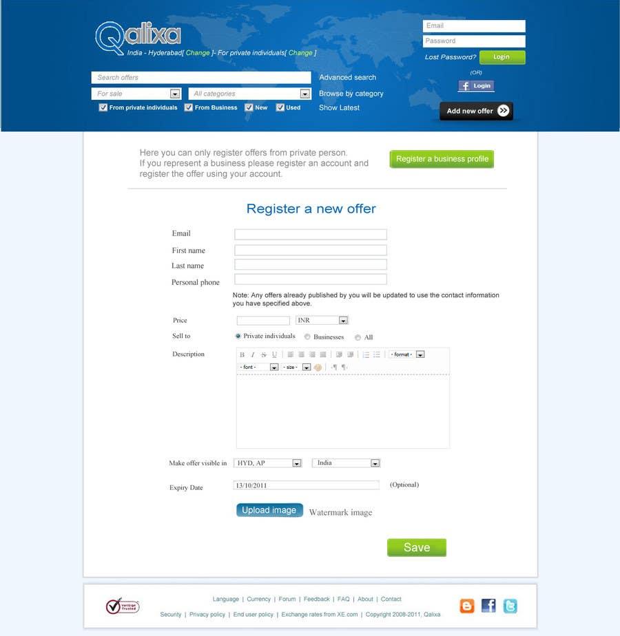 Inscrição nº                                         20                                      do Concurso para                                         Website Design review