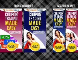 nº 1 pour Banner Ad Design for Coupon Trading par v1pdesigns