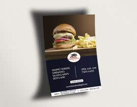 #31 for Create a DropIn 5x7 flyer for a restaurant. by dasson5775