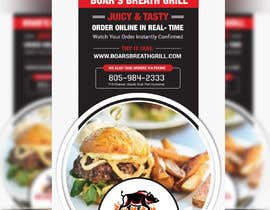 #28 for Create a DropIn 5x7 flyer for a restaurant. by moslehu13