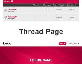 #11 for Design layout for adult forum by rahulbisht28