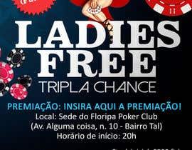 #10 para Projetar um Banner for Poker Tournament Ladies Free por ceresrachel