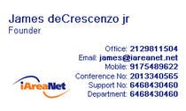 Graphic Design Contest Entry #8 for Web Reception Desk/Card Design for iAreaNet