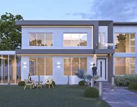 #35 untuk Design a contemporary facade for a new house oleh ShaffuAV