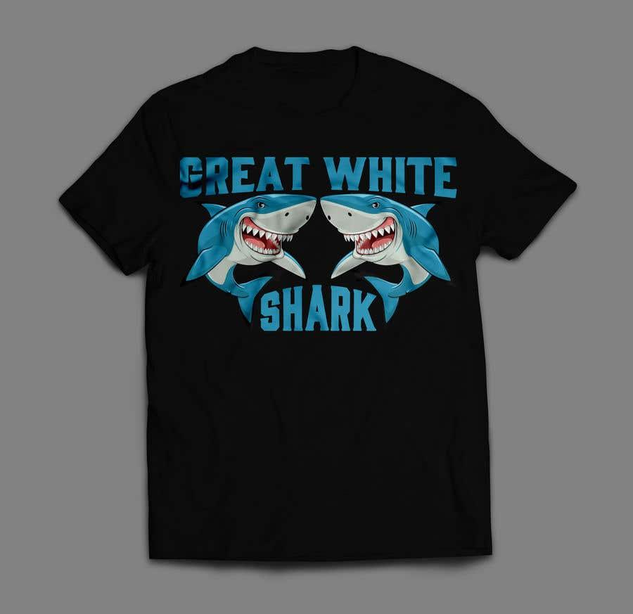 Kilpailutyö #2 kilpailussa Graphic Design for Endangered Species - Great White Shark