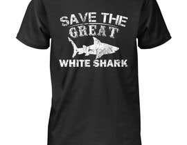 #38 для Graphic Design for Endangered Species - Great White Shark от Gopal7777
