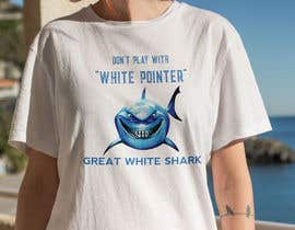 #96 для Graphic Design for Endangered Species - Great White Shark от mdyounus19