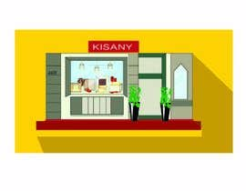 #28 for draw a store from a picture af ananyanair1107