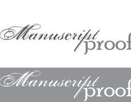 #74 para Logo Design for Manuscript Proof por inspirativ