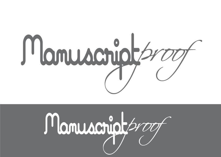 Bài tham dự cuộc thi #                                        82                                      cho                                         Logo Design for Manuscript Proof