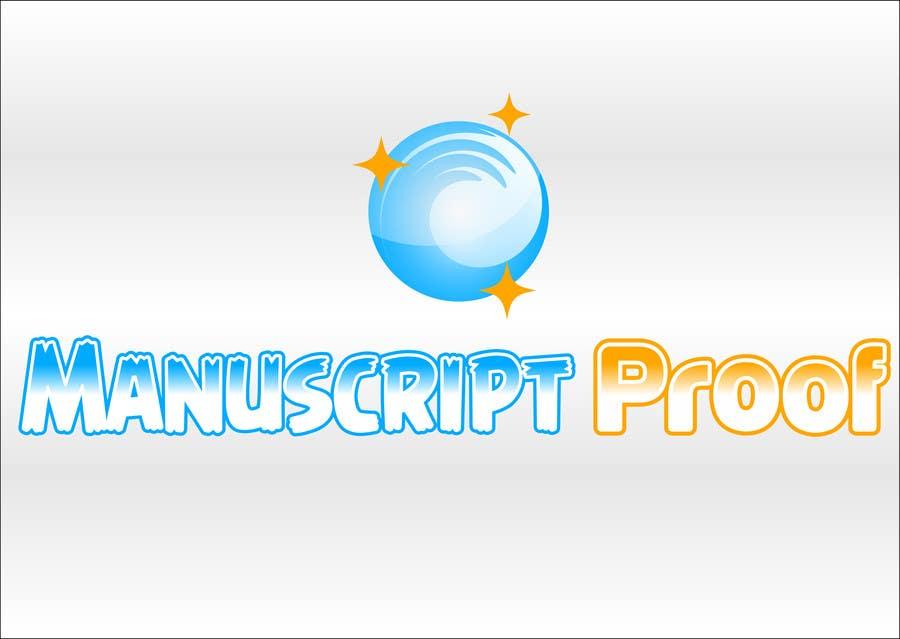 Bài tham dự cuộc thi #                                        72                                      cho                                         Logo Design for Manuscript Proof
