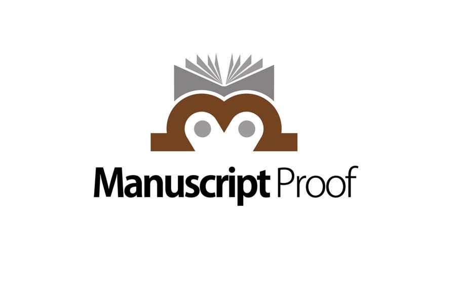 Bài tham dự cuộc thi #                                        84                                      cho                                         Logo Design for Manuscript Proof