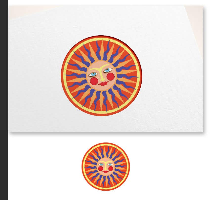 Contest Entry #11 for Logo Image, The SUN GOD