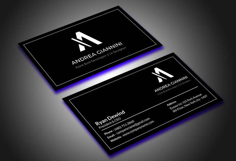 Contest Entry #129 for Andreality business cards