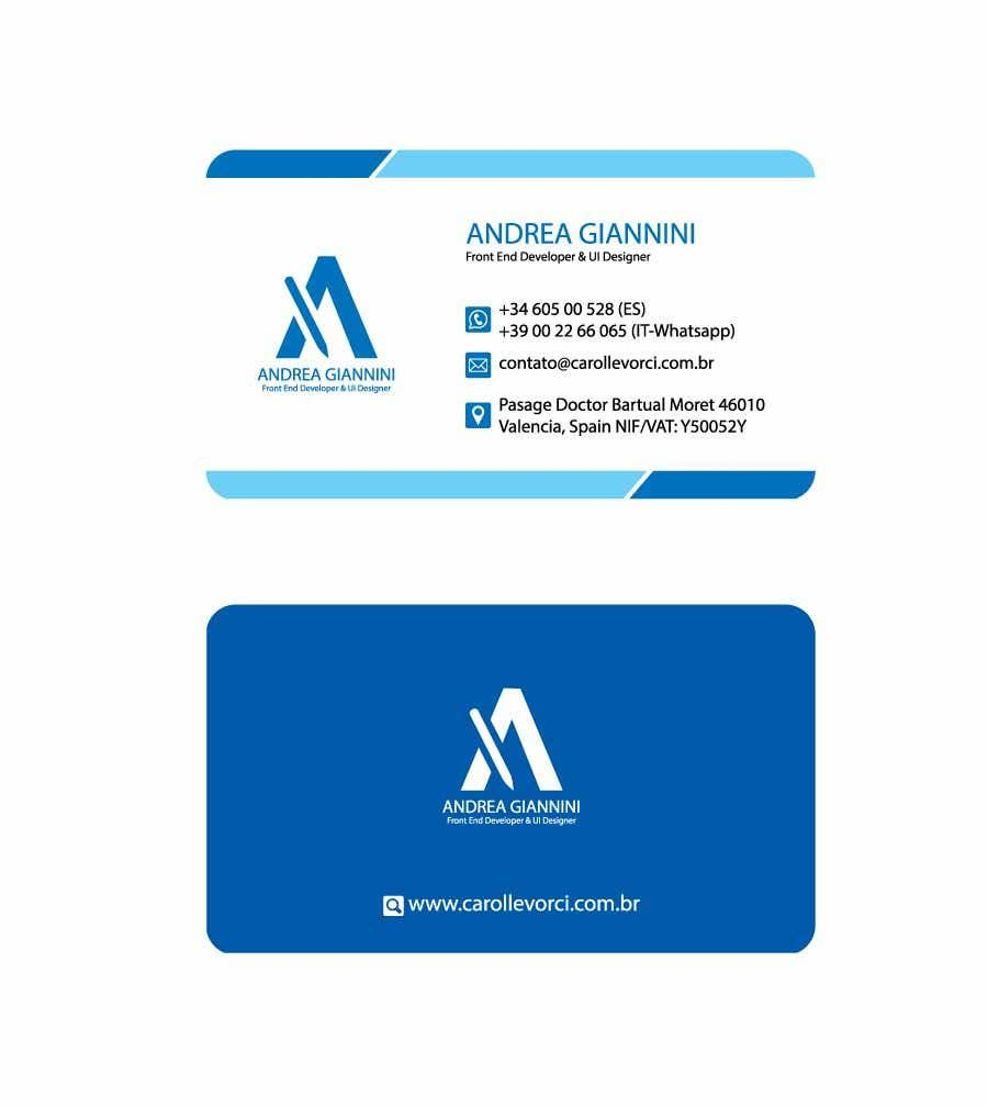 Contest Entry #272 for Andreality business cards