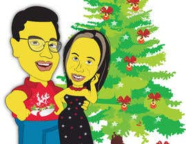 #25 for Cartoon drawings(Marvel like) of me and my girlfriend for a christmas cards af ashvinirudrake13