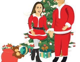 #19 for Cartoon drawings(Marvel like) of me and my girlfriend for a christmas cards af Shanto00akash