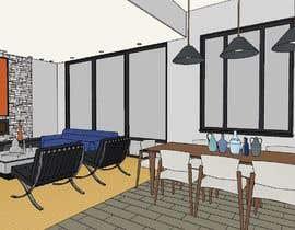 #22 untuk Design my Living/ Dining Room oleh tanitarchitect