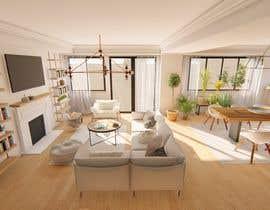 #17 untuk Design my Living/ Dining Room oleh vesnaLA