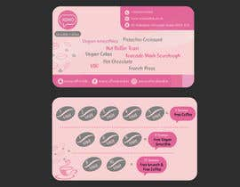 Nro 23 kilpailuun Design  a loyalty card for coffee shop__ Must read  project details and check files before designing käyttäjältä naymafabliha