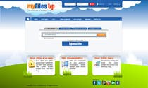 Graphic Design Inscrição do Concurso Nº9 para Website Design for Upload Files website