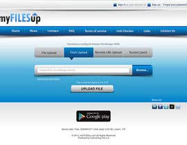 #14 untuk Website Design for Upload Files website oleh ezesol