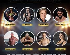 #21 para design special guest posters for Muay Thai Awards por maidang34