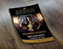 #12 for design special guest posters for Muay Thai Awards by rajdhaniprinters