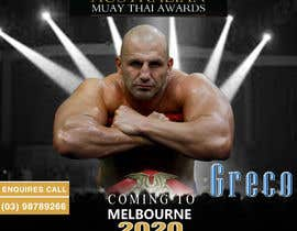 #8 para design special guest posters for Muay Thai Awards por Sirth111