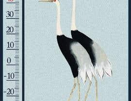 #41 for Design a porcelain enamel thermometer af ouart