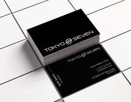 "#599 cho Modern business card design ""TOKYO SEVEN"" bởi HuntPatricia"
