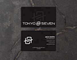 "#591 cho Modern business card design ""TOKYO SEVEN"" bởi maamuun5353"